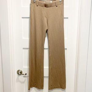 Betabrand Flare Bootcut Leg Beige Yoga Dress Pants